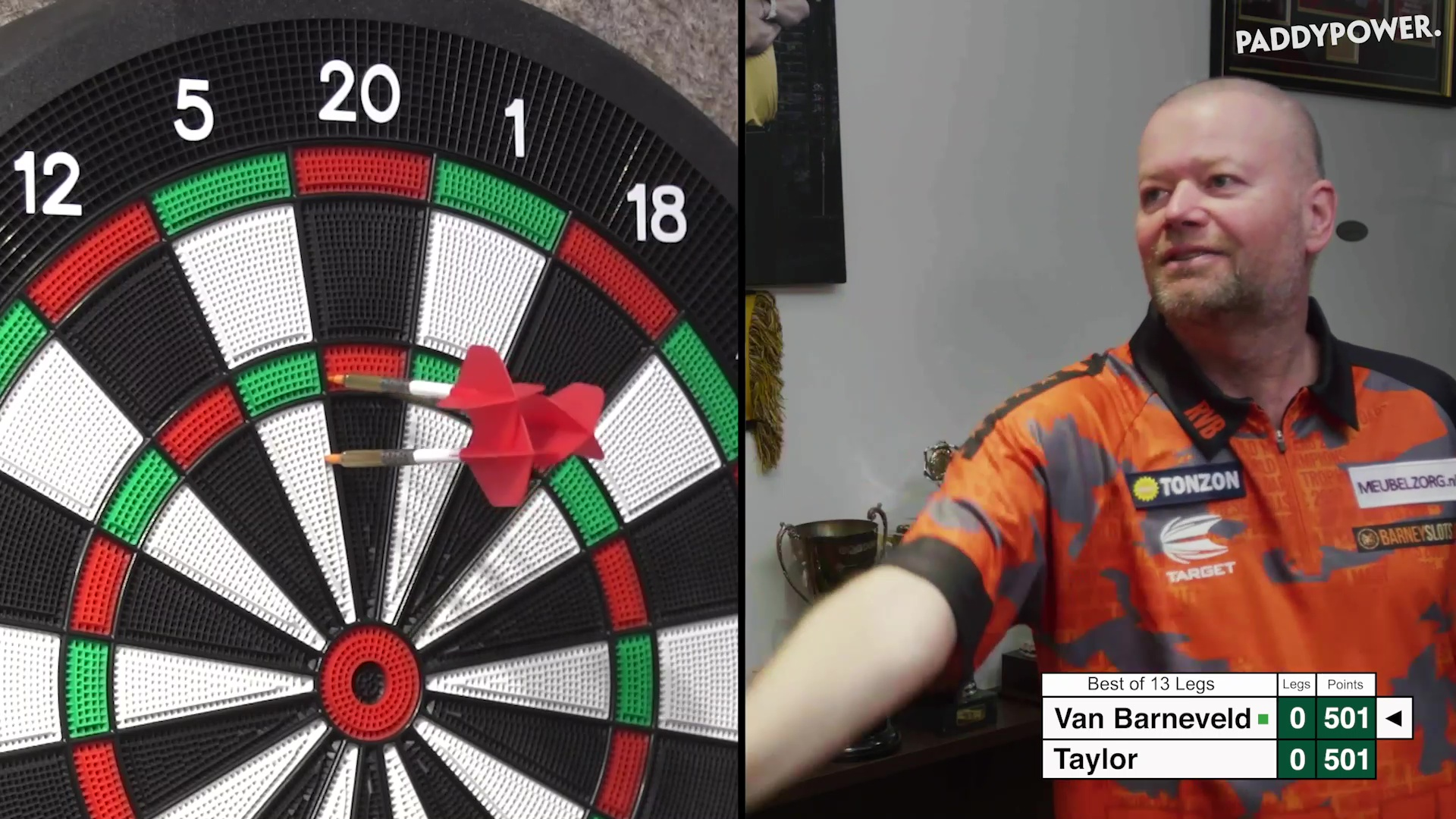 Phil Taylor vs Barney live stream FREE: Watch full replay as Van Barneveld and The Power put on a show in - The Sun