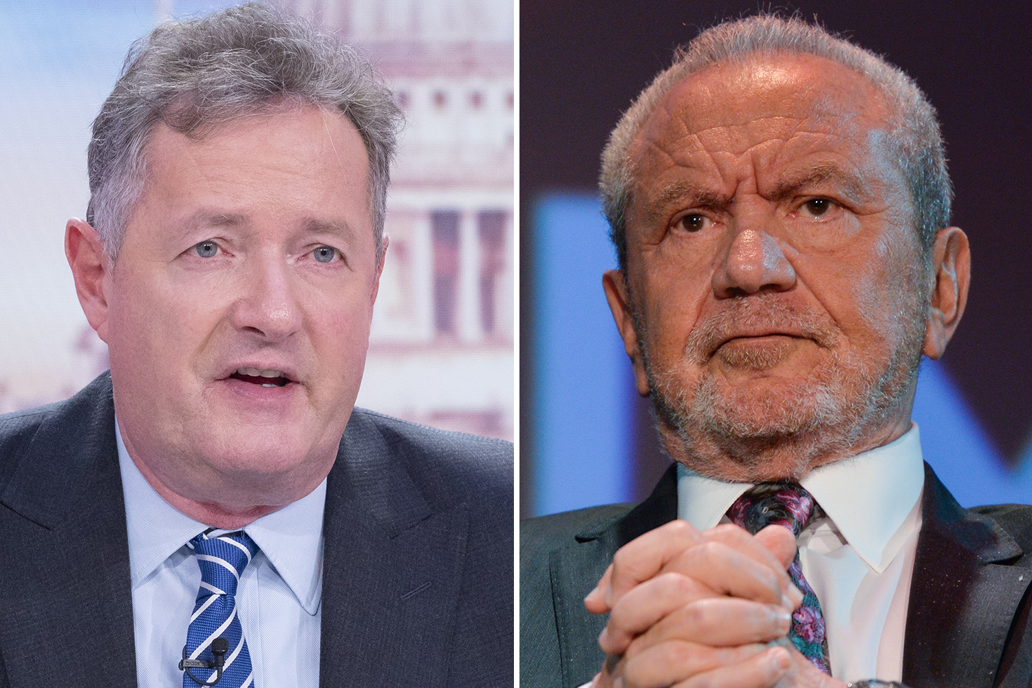 Lord Sugar reignites row with Piers Morgan as he questions how GMB host can get coronavirus test faster than - The Sun