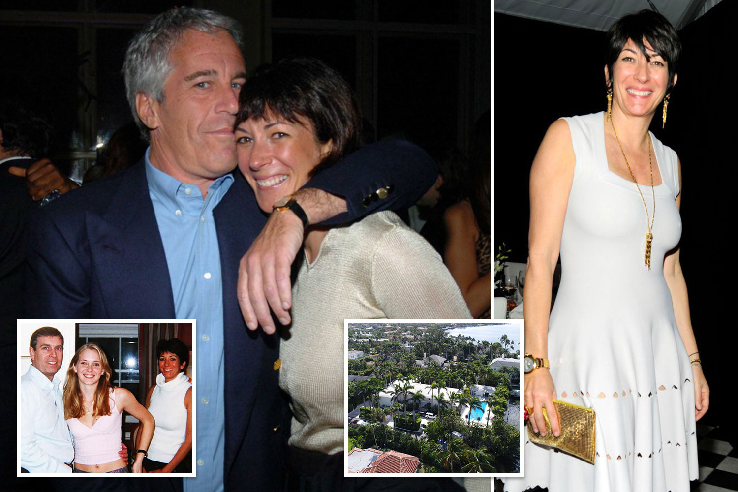 Jeffrey Epstein and Ghislaine Maxwell 'filmed powerful people having sex with underage girls' - The Sun