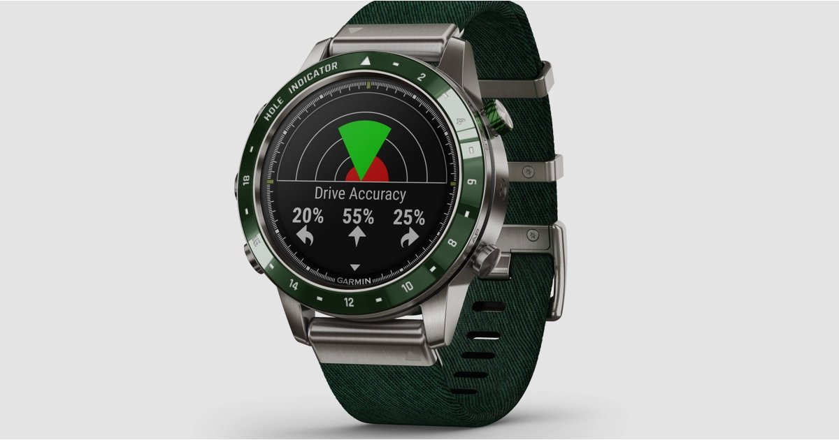 ​Garmin launches $1,850 Marq Golfer watch made from titanium and ceramic - Wareable