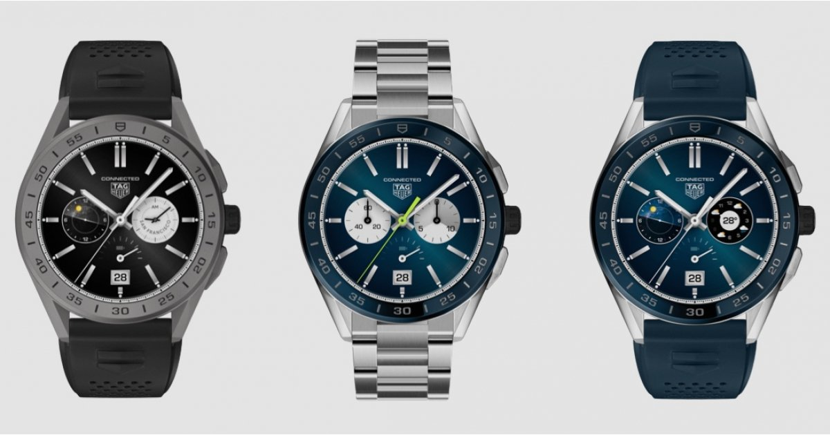 New summer Tag Heuer Connected smartwatch editions land - Wareable