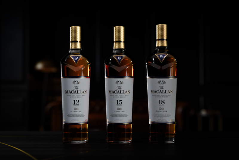 Macallan adds 15 years old and 18 years old to the Double Cask series - Whisky.com News